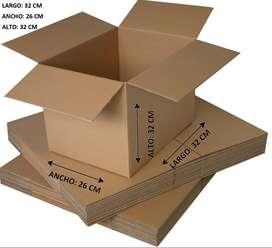 Cajas De Cartón Nuevas De Fábrica Con O Sin Impresión