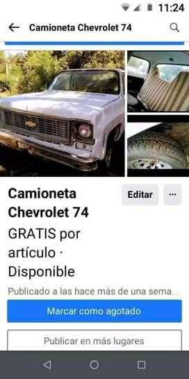 Vendo Chevrolet 74