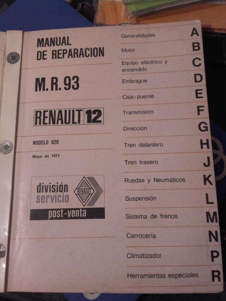Manual Reparacion Renault 12 0