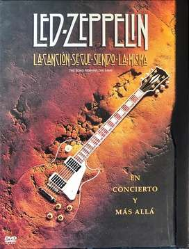 The Song Remains The Same - Led Zeppelin - DVD Original