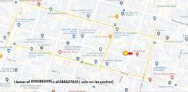 Venta de terreno en area comercial , ideal para negocio del sector automotriz 12 y Febres Cordero -
