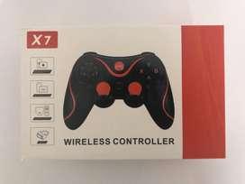 Control Bluetooth X7 Gamepad Inalambrico Cel Android Ios Pc Tv