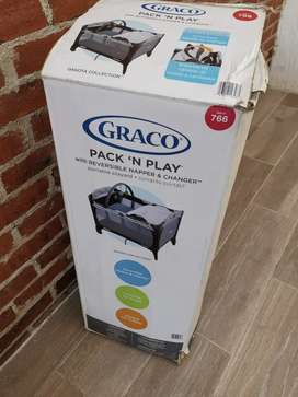 Corral marca Graco Pack and play casi nuevo