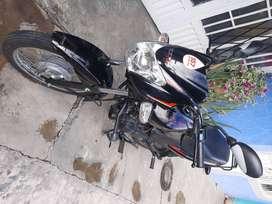 moto tvs casi nueva