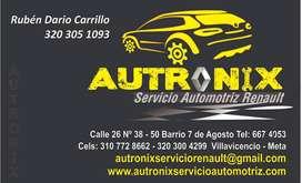SERIVICIO AUTOMOTRIZ RENAULT