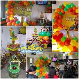 Recreación, animación, decoración, animadores, decoraciones, fiestas infantiles, baby shower.