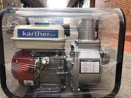 Bomba de agua  ( A gasolina ) 6,5 hp marca alemana