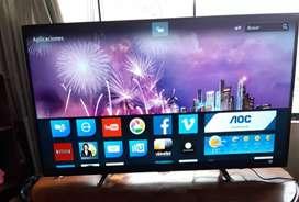 """Tv Smart AOC de 49"""" poco uso"""