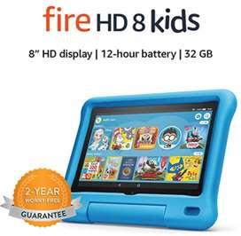 Tablet de niño fire hd 8 kids