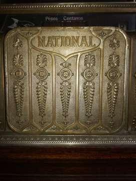 Para la Venta Una pieza interesante , Registradora ra National Cash, Original, data del año 1.912