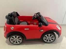 Carro elctrico mini cooper
