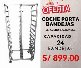 COCHE PORTA BANDEJAS
