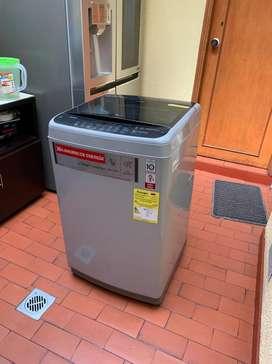 Lavadora LG Carga Superior 9kg Wt9dsbp (3 Meses De Uso)