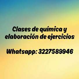 Clases de química y ejercicios