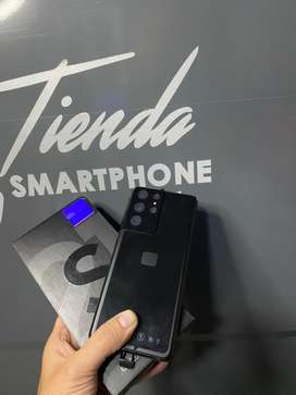 Samsung s21 ultra 256g negro nuevo