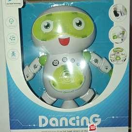 Hermoso muñeco bailarin músical