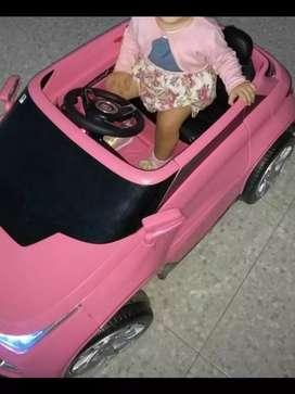 Carro a control remoto automático para niña