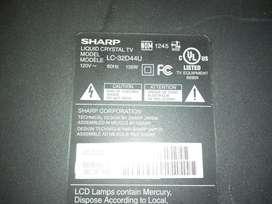 Tv Sharp Lc32d44u para Repuesto