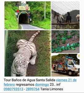 Tour Baños de Agua Santa