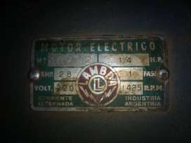 Motor eléctrico Monofásico 1/4 HP