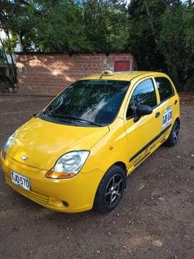 Vendo taxi spark excelente estado 2015