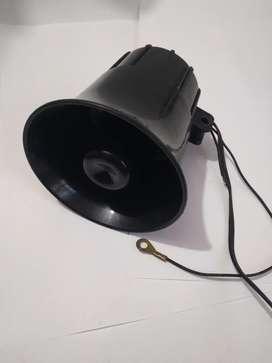 Sirena Alarma Para Automóvil 6 sonidos
