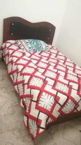 Vendo cama en un buen estado colchón incluido