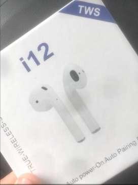 Audifonos wireles inalambricos i12