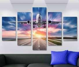 Cuadros Modernos Aviones