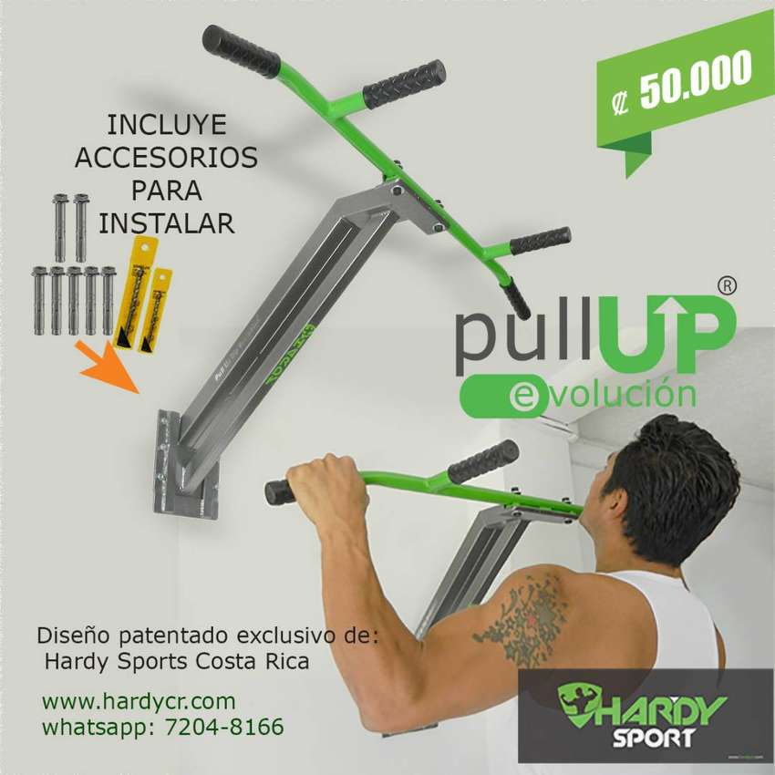 Barra Pull Up Evolución / Pull Up Bar, Dominadas Hardy Sports 0