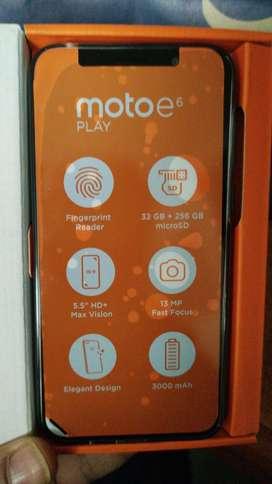 SENSACIONAL PROMOCION TELEFONO NUEVO MOTO E6 PLAY