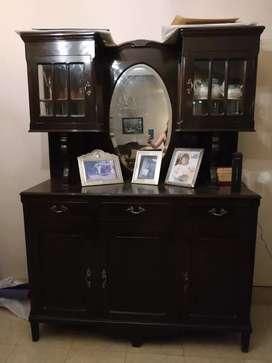 Vendo mueble cristalero antiguo