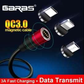 Cable Magnético Carga Rápida Y Datos Usb