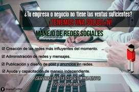 MANEJO DE REDES SOCIALES ¡GRATIS!