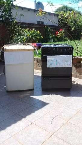 Vendo lavarropa Samsung y cocina domec