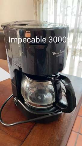 Cafetera impecable