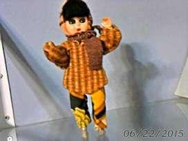 muñeca plastico rusa