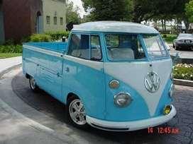 Rarísima Vw pickup original alemaña 1957
