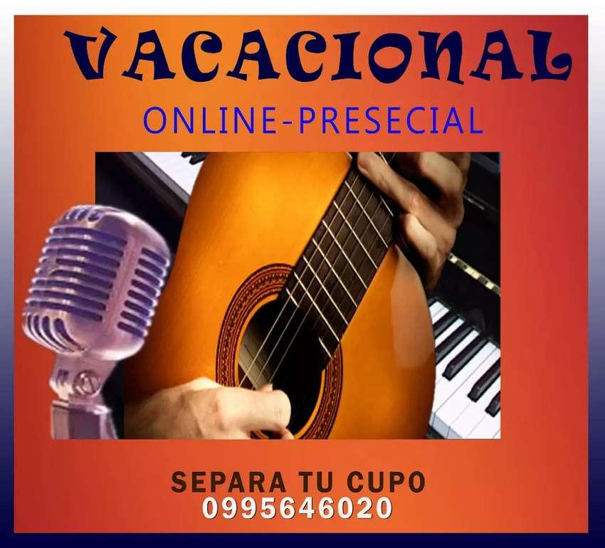 VACACIONAL: CANTO - GUITARRA - PIANO 0