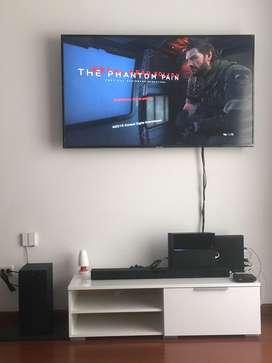 """TV SAMSUNG 4k SERIE 7 58"""" Y Barra de Sonido LG SL4 300W(6 meses de uso único dueño excelente estado)"""
