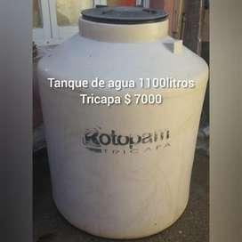 VENDO TANQUE TRICAPA- 1100litros