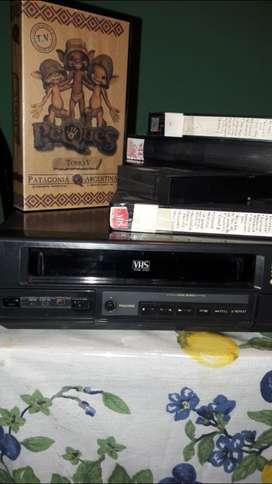 VHS videocasetera