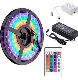 Luces led RGB multicolor (5 metros)