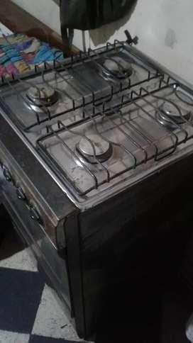 Se vende cocina 4 ornillas a gas