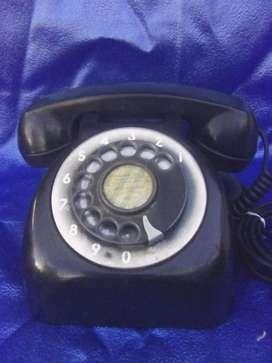 Telefono baquelita entel sapo