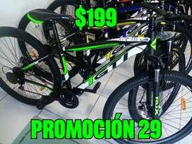 Bicicletas 22 24 26 y 29