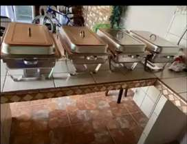 Se venden chafing dish