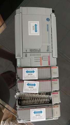 PLC  MICROLOGIX 1500 ALLEN BRADLEY CON 4 MODULOS DE EXPANSION