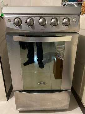 Estufa a gas con horno haceb 100% funcional