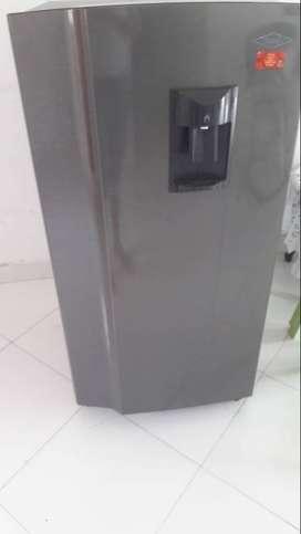 nevera haceb frost congelador superior austria 220 litros brutos 9002080 gris